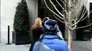 Eva Mendes uwielbia śnieg