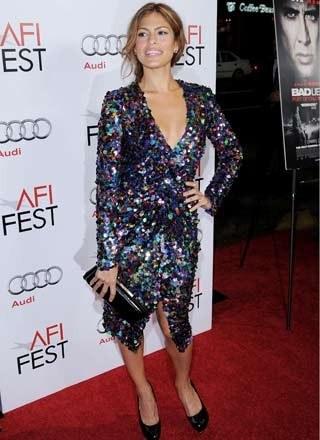 Eva Mendes /Getty Images/Flash Press Media