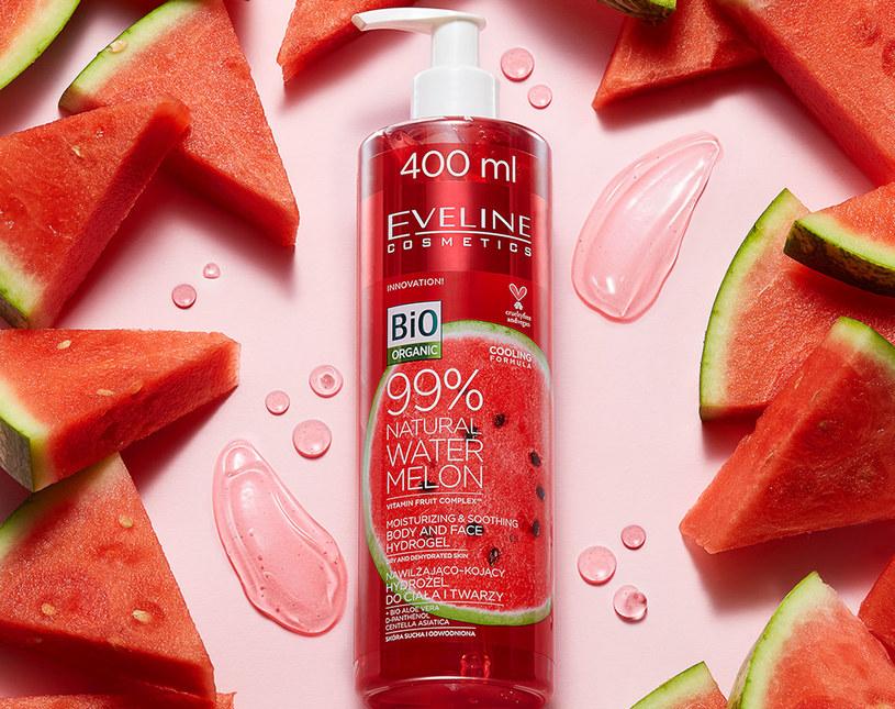 Eveline Cosmetics: Arbuzowy hydrożel do ciała i twarzy /materiały prasowe