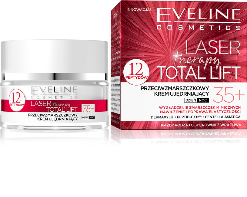 Eveline Cosmetics Laser Therapy Total Lift 35+ /INTERIA.PL/materiały prasowe