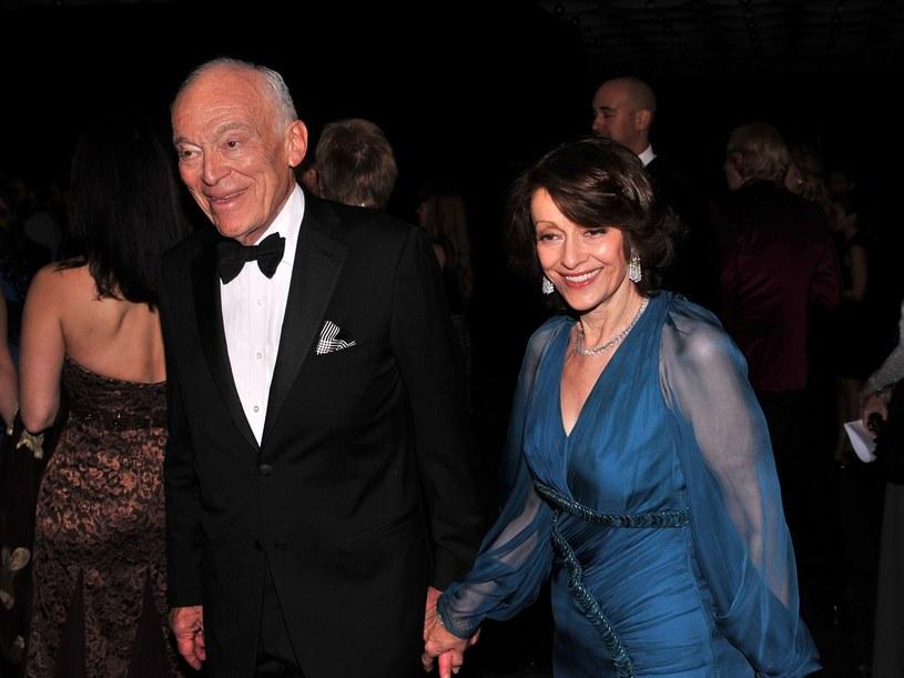 Evelyn z mężem Leonardem Lauder  /Getty Images/Flash Press Media