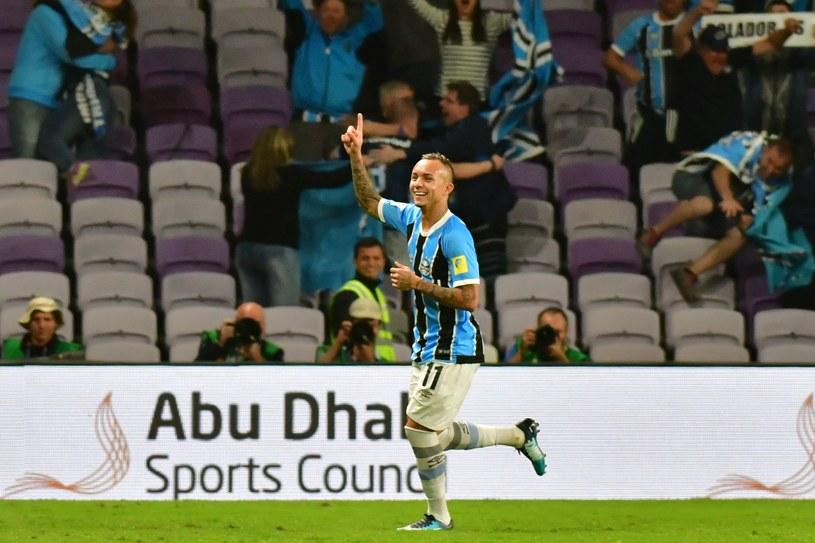 Everton z Gremio Porto Alegre /AFP