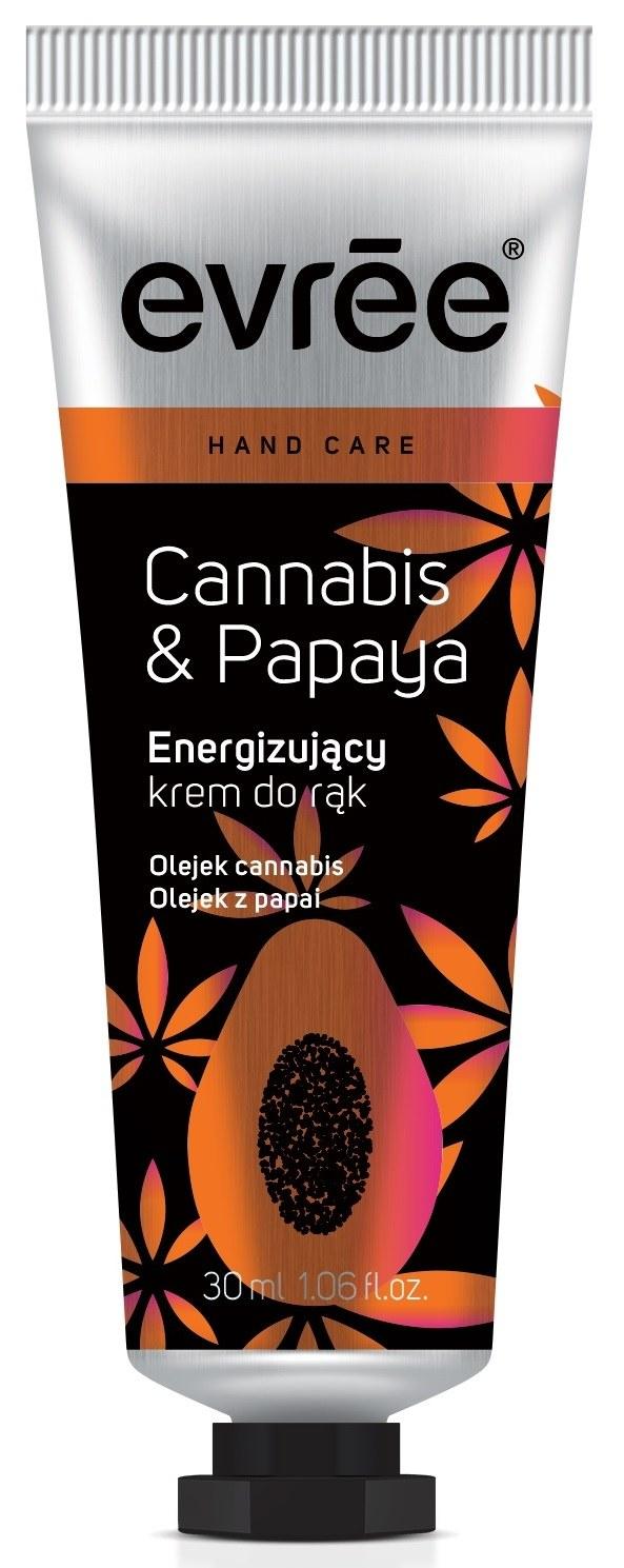 EVREE_krem do rak Cannabis & Papaya /materiały prasowe