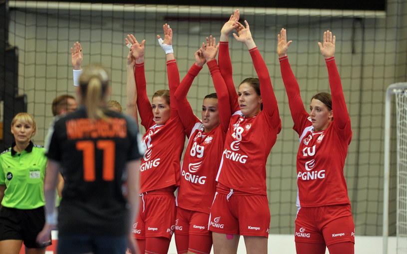 Ewa Andrzejewska (pierwsza z lewej) /Marcin Bielecki /PAP