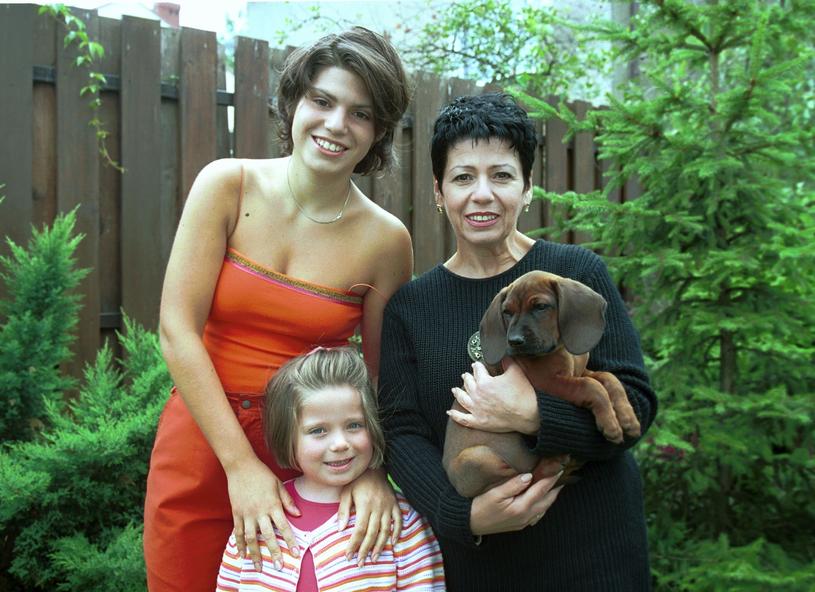 Ewa Bem z córką Pamelą i Gabrielą /East News