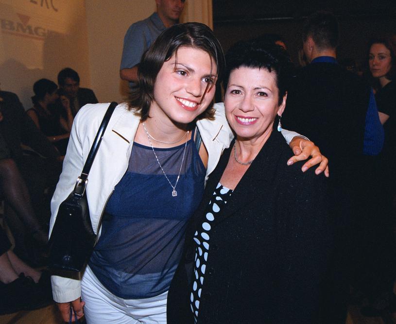Ewa Bem z córką Pamelą /Sebastian Wolny /East News