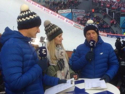 Ewa Bilan-Stoch dołączyła do ekipy Eurosportu /