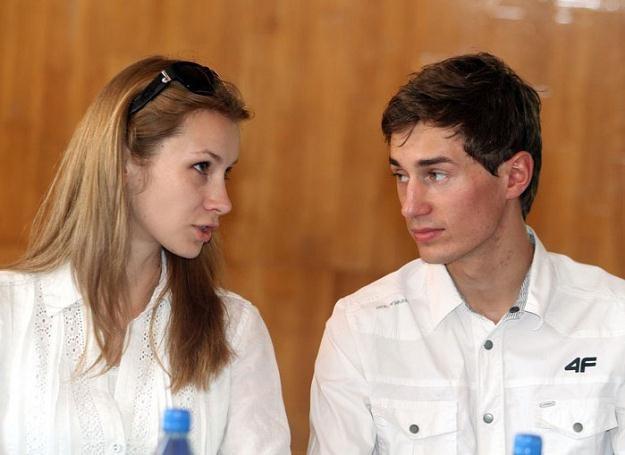 Ewa Bilan-Stoch i Kamil Stoch_fot.Jacek Kozioł /East News