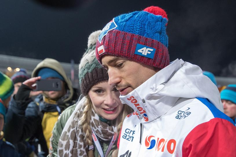 Ewa Bilan-Stoch i Kamil Stoch /Andrzej Iwańczuk /Reporter