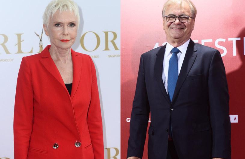 Ewa Błaszczyk i Jacek Bromski /Jarosław Antoniak, Andras Szilagyi /MWMedia