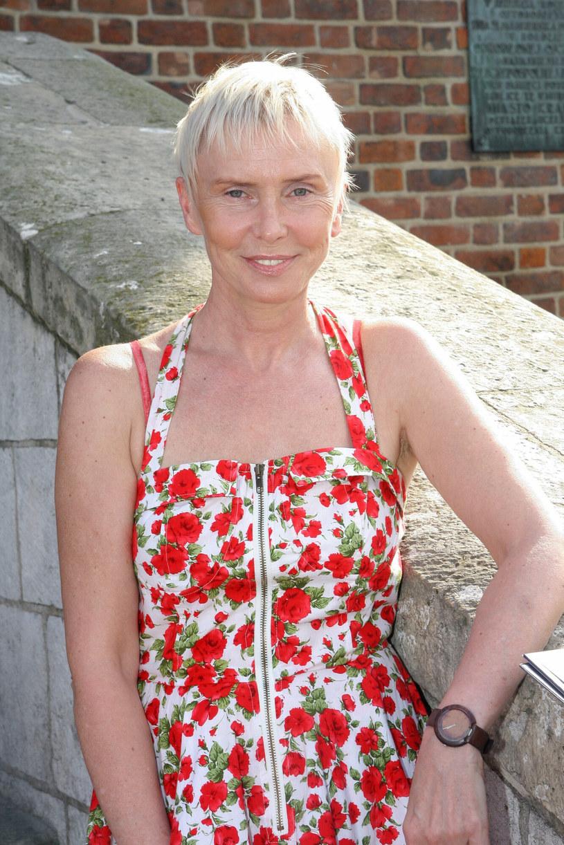 Ewa Błaszczyk na zdjęciu w 2010 roku /Damian Klamka /East News