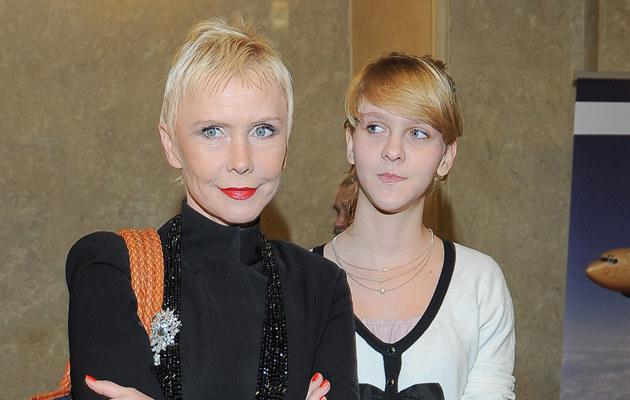 Ewa Błaszczyk z córką Manią, fot.Paweł Przybyszewski  /MWMedia