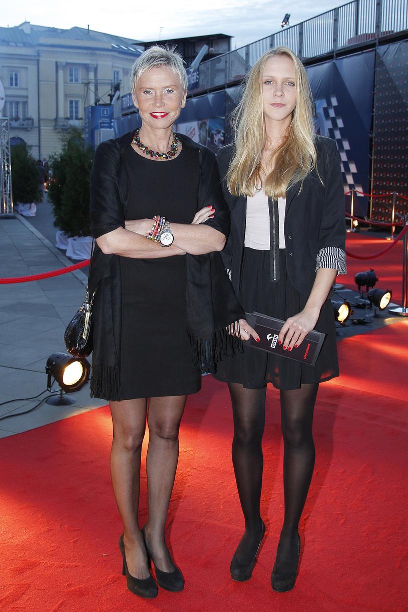 Ewa Błaszczyk z córką Marianną Janczarską /AKPA