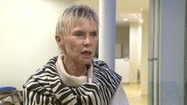 """Ewa Błaszczyk zagrała jedną z głównych ról w familijnym filmie """"Za niebieskimi drzwiami"""""""
