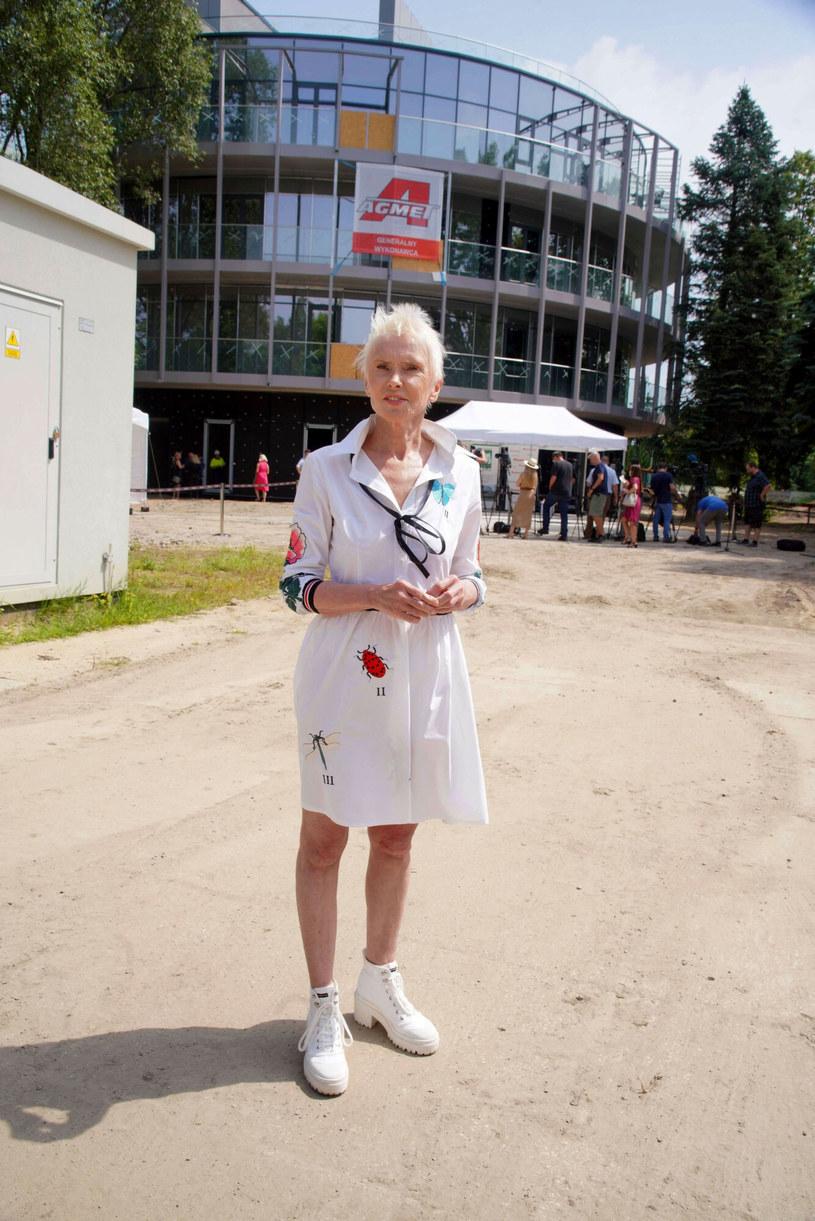 Ewa Błaszczyk /Tricolors /East News