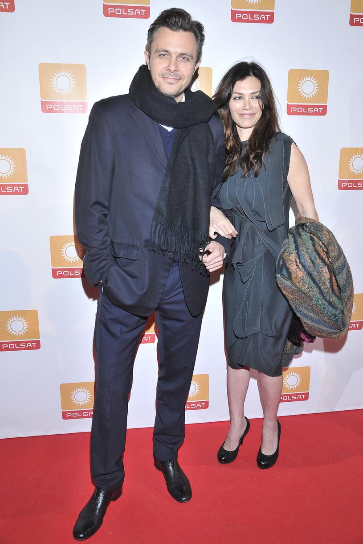 Ewa Bukowska z byłym mężem, Markiem /AKPA