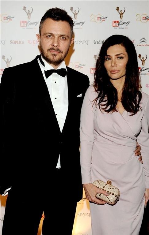 Ewa Bukowska z mężem, Markiem /Agencja W. Impact