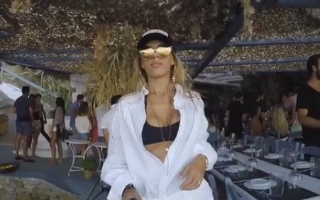 Ewa Chodakowska na wakacjach w Grecji /Instagram