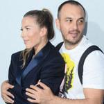 Ewa Chodakowska obściskuje się z mężem na imprezie