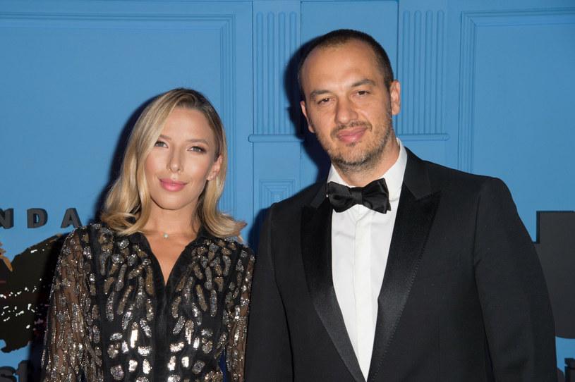 Ewa Chodakowska w 2013 roku wyszła za Greka Lefterisa Kavoukisa, który tak,  jak ona jest trenerem personalnym /Artur Zawadzki/REPORTER /East News