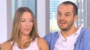 Ewa Chodakowska z mężem w telewizji