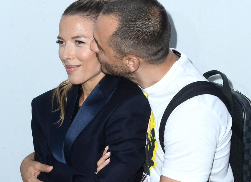 Ewa Chodakowska z mężem /MWMedia