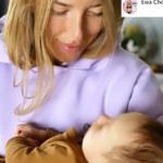 Ewa Chodakowska z niemowlakiem na rękach. Pojawiły się uszczypliwe głosy...
