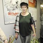 Ewa Dałkowska bez stanika na premierze książki