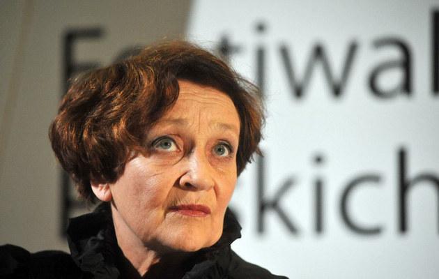 Ewa Dałkowska, fot.Wojciech Stróżyk