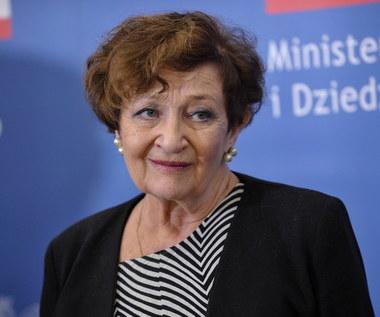 Ewa Dałkowska odebrała Złoty Medal Zasłużony Kulturze Gloria Artis