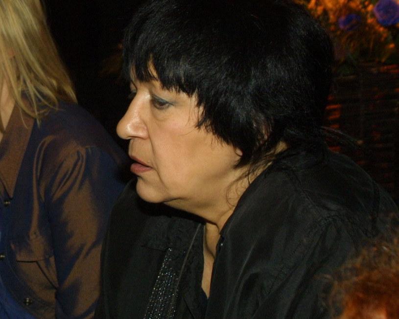 Ewa Demarczyk, 2001 r. /Studio69 /Agencja FORUM