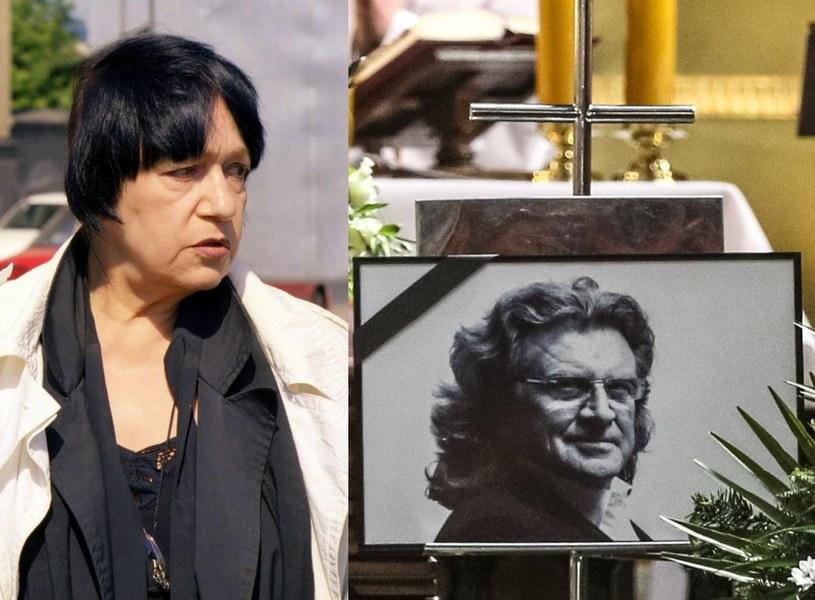 Ewa Demarczyk nie pojawiła się na pogrzebie Wodeckiego! /- /East News