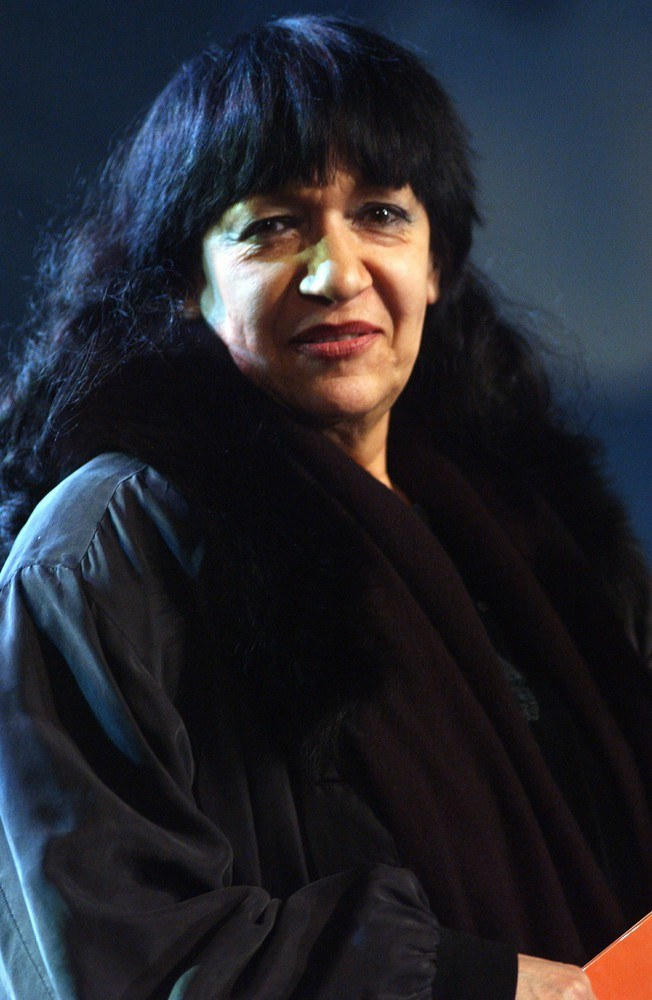 Ewa Demarczyk - Przegląd Piosenki Aktorskiej we Wrocławiu, 2003 r. /Piotr Hawalej /Reporter
