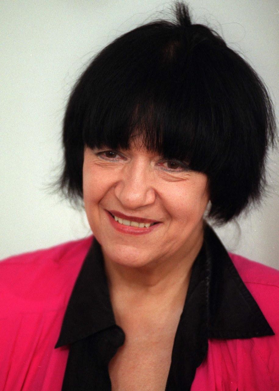 Ewa Demarczyk w 1999 roku / Jacek Bednarczyk    /PAP