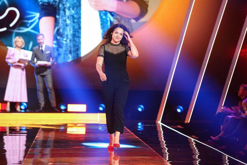 Ewa Drzyzga na prezentacji wiosennej ramówki TVN-u /Kamil Piklikieiwcz /East News