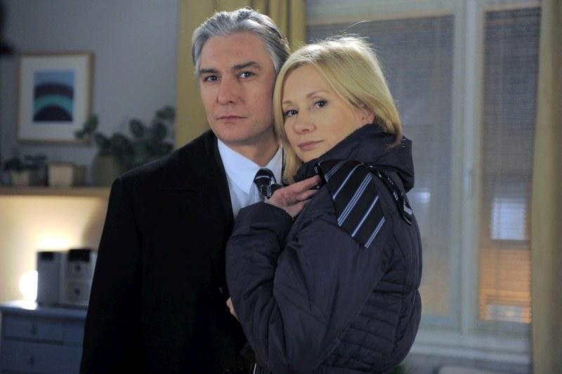 Ewa (Ewa Gawryluk)  i Tomasz (Mariusz Drężek) /Agencja W. Impact