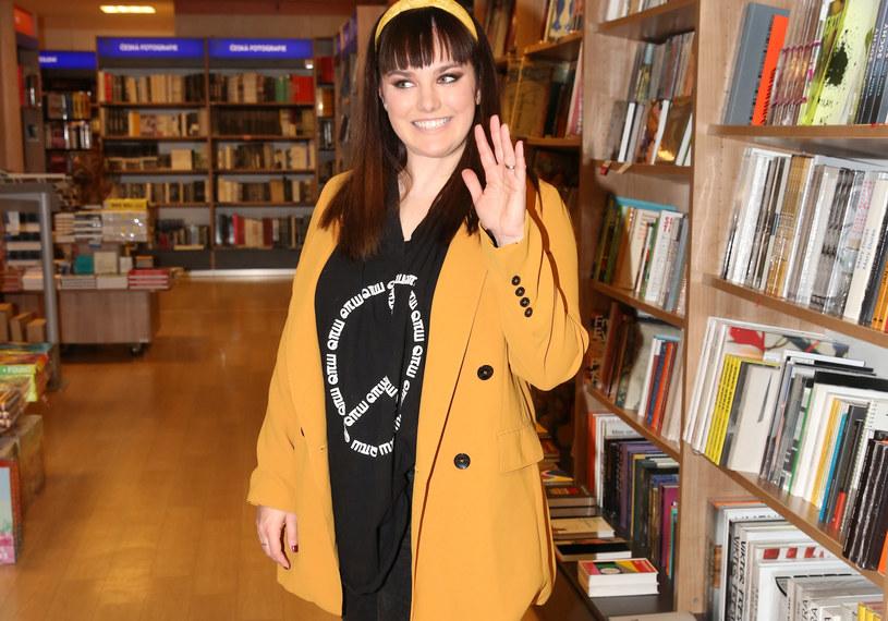 Ewa Farna na promocji książki /FORUM /Agencja FORUM