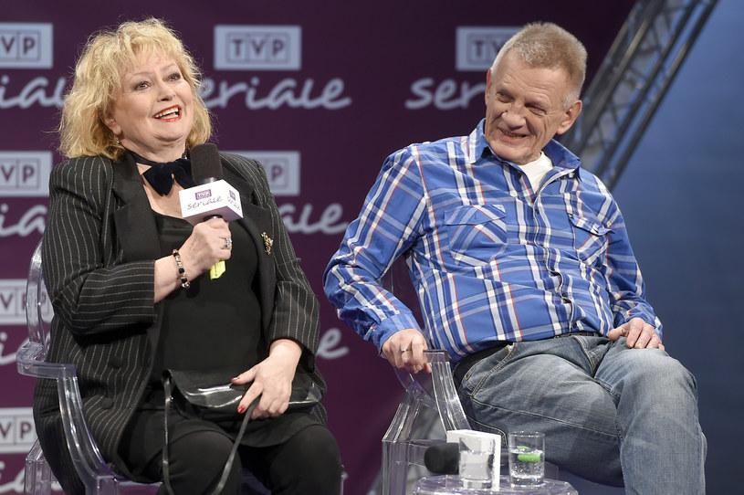Ewa Florczak, Bronisław Cieślak /Piętka Mieszko /AKPA