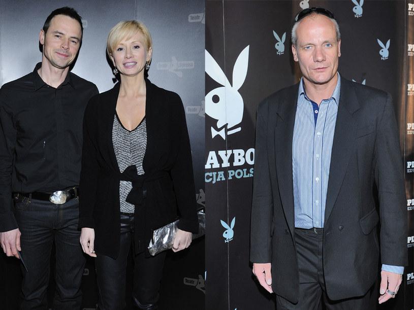 Ewa Gawryluk jest szczęśliwa ze swoim mężem, Piotr Zelt  ma problemy  /Jarosław Antoniak, Andras Szilagyi /MWMedia