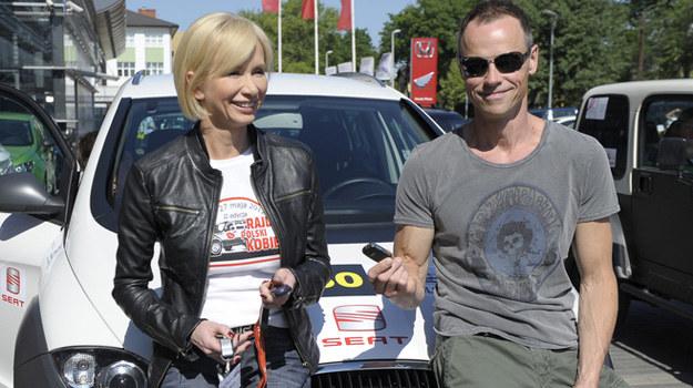 Ewa Gawryluk wraz z mężem Waldemarem Błaszczykiem /Niemiec /AKPA