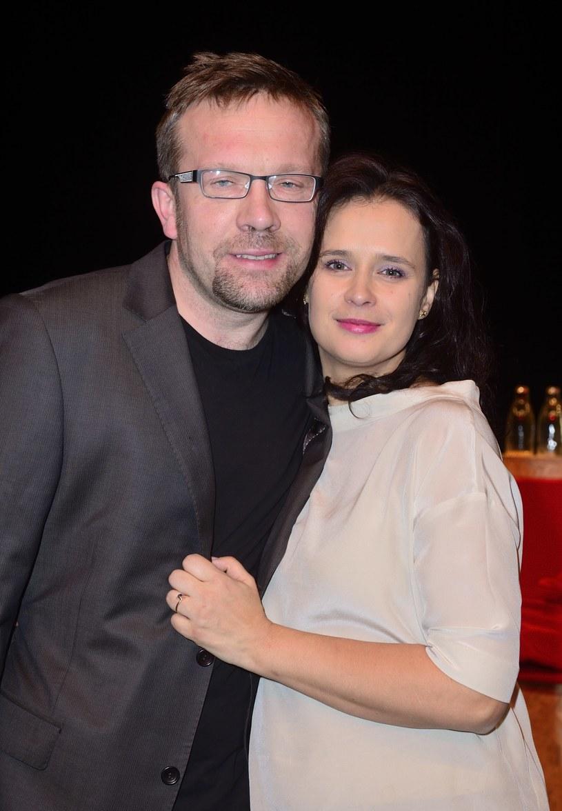 Ewa Gorzelak z mężem /Jarosław Antoniak /MWMedia