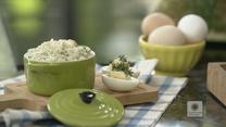 """""""Ewa gotuje"""": Pasta jajeczna z rzeżuchą"""