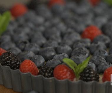 """""""Ewa gotuje"""": Tarta z budyniem i owocami leśnymi"""