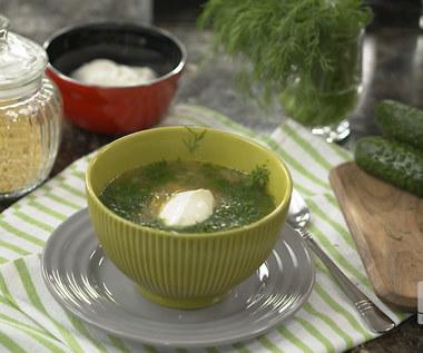 """""""Ewa gotuje"""": Zupa jarzynowo-ogórkowa"""
