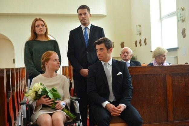 """Ewa i Marek wezmą ślub w 1111. odcinku """"M jak miłość"""" /Agencja W. Impact"""