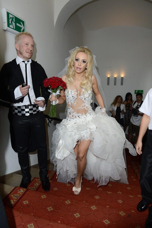 Ewa i Tomasz Lubertowie pobrali się w 2012 roku. Świadkiem na ich ślubie była m.in. Doda /East News