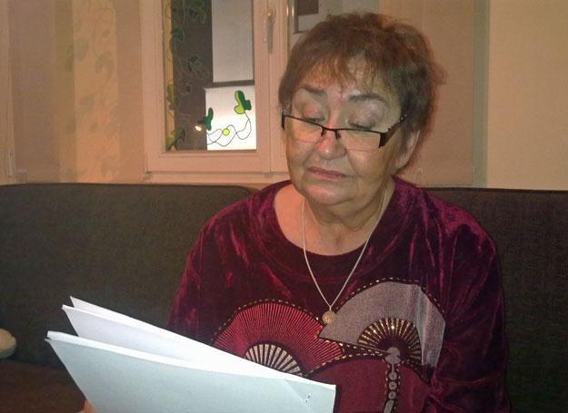Ewa Juszko-Pałubska w swoim mieszkaniu w Piotrkowie Trybunalskim /INTERIA.PL