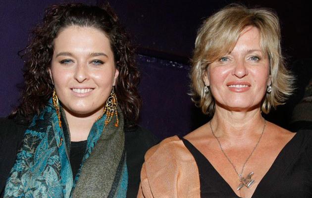 Ewa Kasprzyk z córką, fot. Baranowski  /AKPA