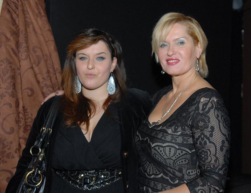Ewa Kasprzyk z córką /Marek Ulatowski /MWMedia