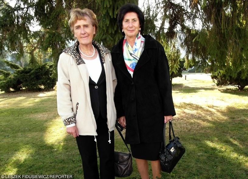 Ewa Kłobukowska i Irena Kirszenstein Szewińska, 2011 r. /Fidusiewicz/REPORTER /East News